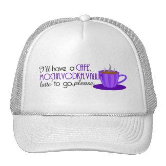 Cafe Latte Trucker Hat