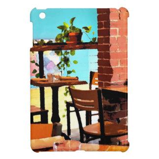 Cafe life iPad mini cover