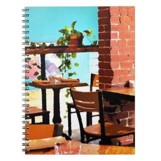 Cafe life notebook