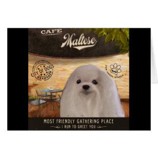 Cafe Maltese Card