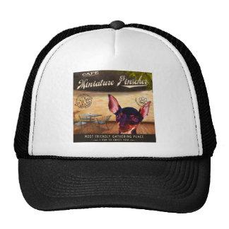 Cafe Miniature Pinscher Trucker Hat
