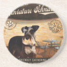 Cafe Miniature Schnauzer Coaster