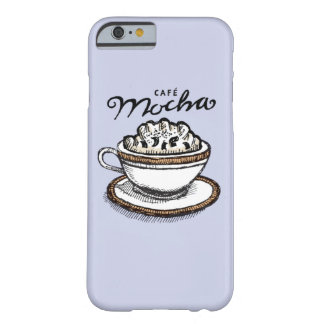 Cafe Mocha: Periwinkle Barely There iPhone 6 Case
