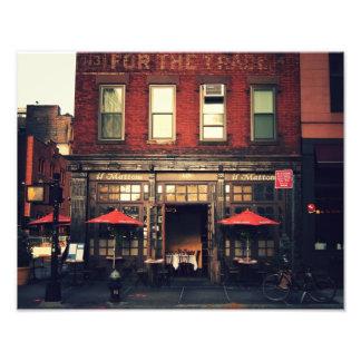 Cafe - New York City Photograph