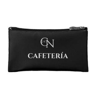Café Novela Cafetería Small Cosmetic Bag