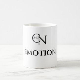 Café Novela Emotion White 11 oz Classic Mug