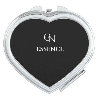 Café Novela Essence Night Heart Compact Mirror