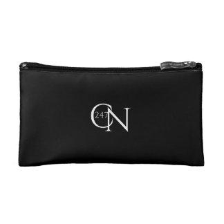 Café Novela Small Cosmetic Bag