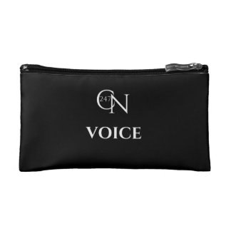 Café Novela Voice Small Cosmetic Bag