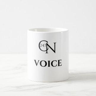 Café Novela Voice White 11 oz Classic Mug