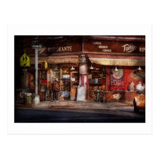 Cafe - NY - Chelsea - Tello Ristorante Postcard