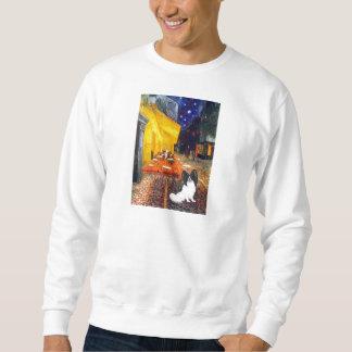 Cafe - Papillon 1 Sweatshirt