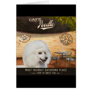 Cafe Poodle Card