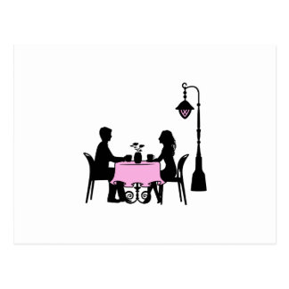 Cafe Postcard