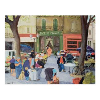 Cafe Provence Postcard