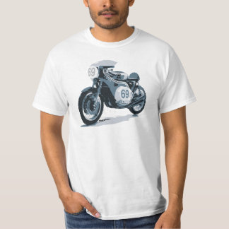 Cafe Racer Classic Motorcycle T-Shirt