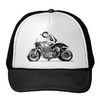 CAFE RACER. MESH HATS
