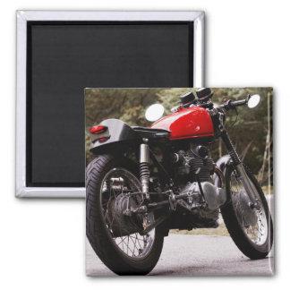 Cafe Racer Motorcycle fridge magnet