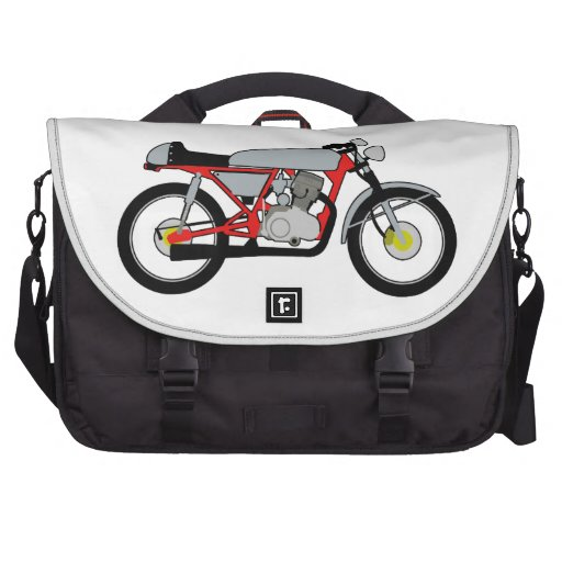 Cafe Racer Motorcycle Laptop Bags