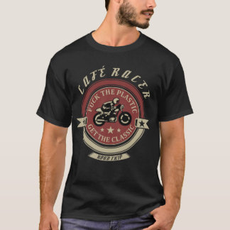 Cafe Racer T shirt - Classic Motorcycle T shirt