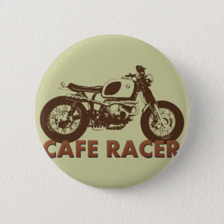 Cafe Racer Vintage 2 Inch Round Button