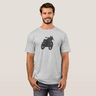 Cafe Racer Vintage Motorcycle Silhouette T-Shirt