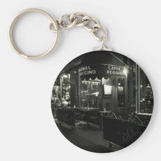Cafe Reggio Basic Round Button Keychain
