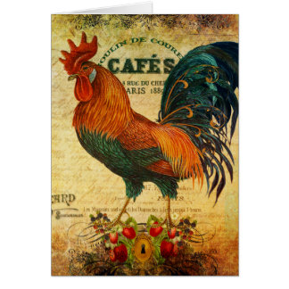 Cafe Rooster Card