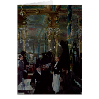 Cafe Royal, London, 1912 Card