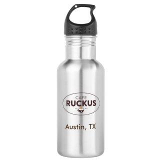 Cafe Ruckus water bottle