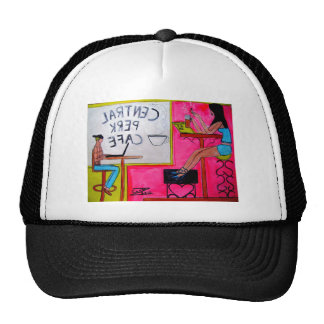 Cafe Scenery Hat