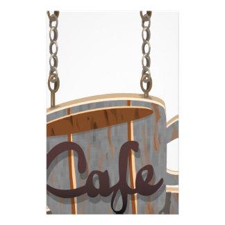 cafe stationery