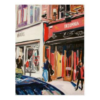 cafe stephens green dublin postcard