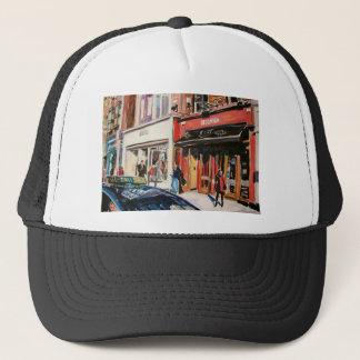 cafe stephens green dublin trucker hat