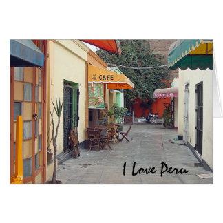 Cafe Street Card