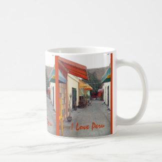 Cafe Street Cheap Lunch in Lima Coffee Mug