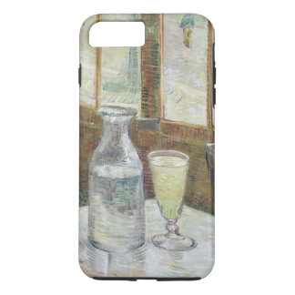 Café table with absinth iPhone 7 plus case