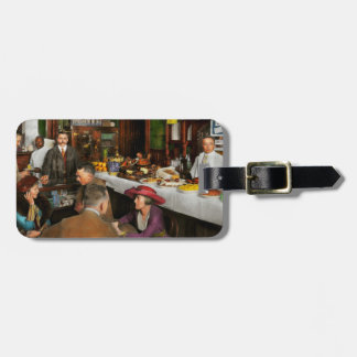 Cafe - Temptations 1915 Luggage Tag