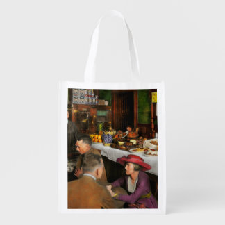 Cafe - Temptations 1915 Reusable Grocery Bag