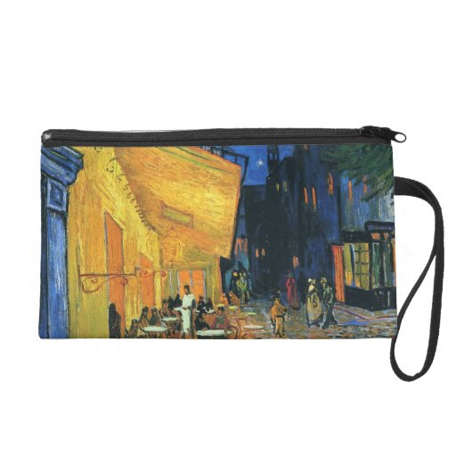 Cafe Terrace at Night Wristlets