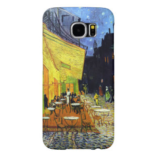 Café Terrace at Night by Van Gogh Fine Art Samsung Galaxy S6 Cases