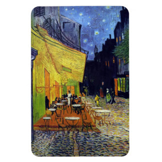 Cafe Terrace at Night by Vincent van Gogh 1888 Rectangular Photo Magnet