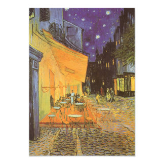 Cafe Terrace at Night by Vincent van Gogh Card