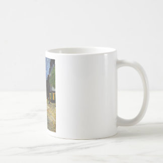 Cafe Terrace at Night Van Gogh Classic White Coffee Mug