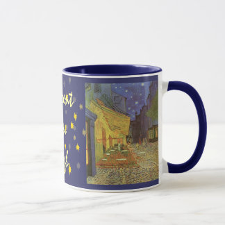 Cafe' Terrace At Night Van Gogh coffeehouse Gifts Mug