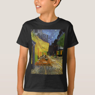 Cafe Terrace at Night Van Gogh Shirts