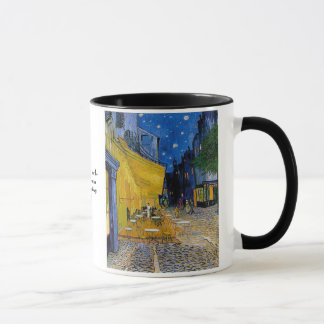 Cafe Terrace by Vincent van Gogh Mug