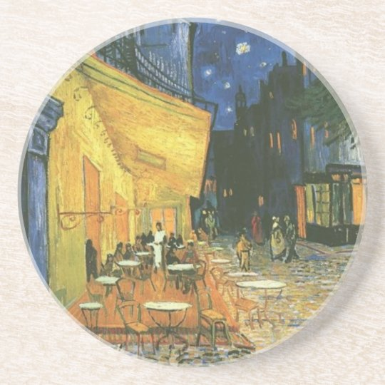 Cafe Terrace - Vincent van Gogh Coaster