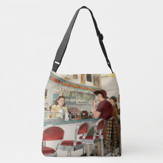 Cafe - The local hangout 1941 Crossbody Bag