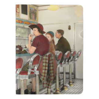 Cafe - The local hangout 1941 Extra Large Moleskine Notebook